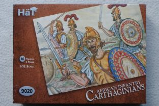 HaT 1/32 HAT9020 Carthaginian African Infantry (Ancients)
